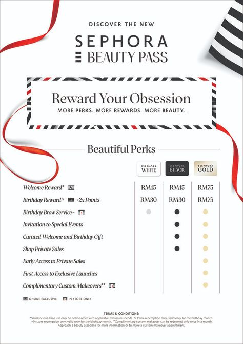 Sephora Updates Its Beauty Pass Loyalty Program With New Gold Tier
