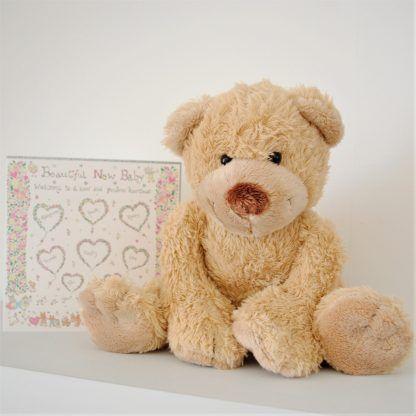 NEW Gift Present HAPPY BIRTHDAY CHRISTINE Cute Soft Cuddly Teddy Bear