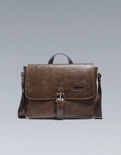 Zara Leather Bag (Man)