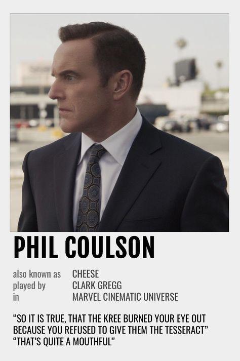 Phil Coulson Polaroid Poster