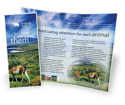Life On The Farm Brochure Template Design and Layout, Download Now - microsoft word templates for brochures