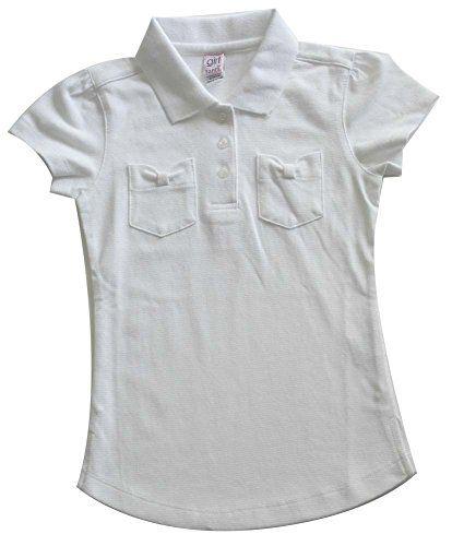 Girl Toppy School Uniform Short Sleeve Top