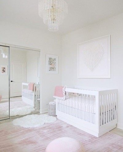 Pretty In Pink Babyletto Harlow Crib Nursery Designed By Littlecrowninteriors For Melissamolinaro Photo With Images White Nursery Furniture Blush Nursery