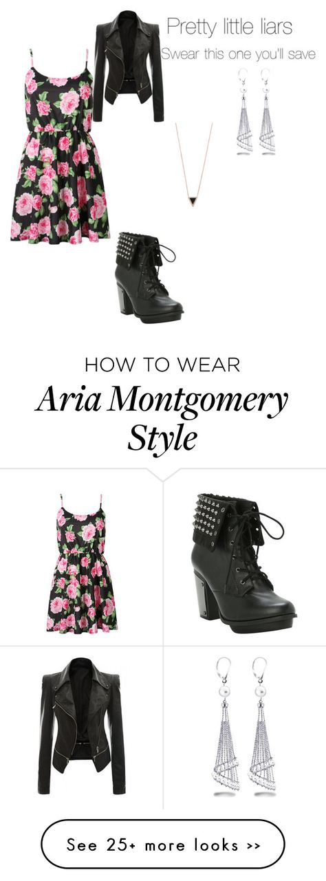 """Aria Montgomery"" by cecibo on Polyvore"
