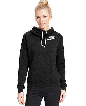 Nike Rally Funnel Neck Sweatshirt Hoodie Jackets & Blazers