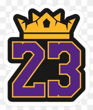 Lebron James Svg File, La Lakers Svg