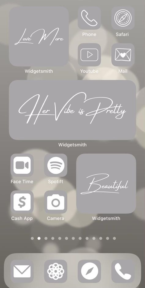 Grey aesthetic ios14 app icon covers