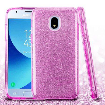 For Galaxy J3 2018 Galaxy J3 Star Case By Insten Glitter Hard Plastic Soft Tpu Rubber Case Cover For Samsung Galaxy Express Prime 3 J3 2018 J3 Achieve J3 Star In 2021 Samsung Galaxy Galaxy