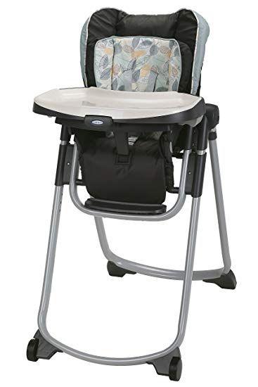 Graco Slim Spaces Folding High Chair Trail Review Baby High Chair Folding High Chair High Chair