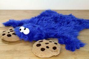 Cookie Monster Rug Monster Cookies Bear Skin Rug Skin Rugs