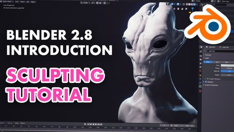 Introduction to Sculpting in Blender 2.8 Sculpting