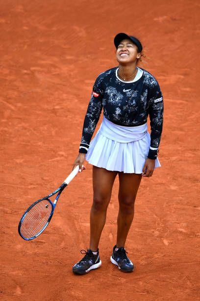 Naomi Osaka French Open 2019 Tennis Outfit Nike Women Tennis Outfit Clay Court Photo Shot Tennis Shoes Tennis Clothes Tennis Outfit Women Tennis