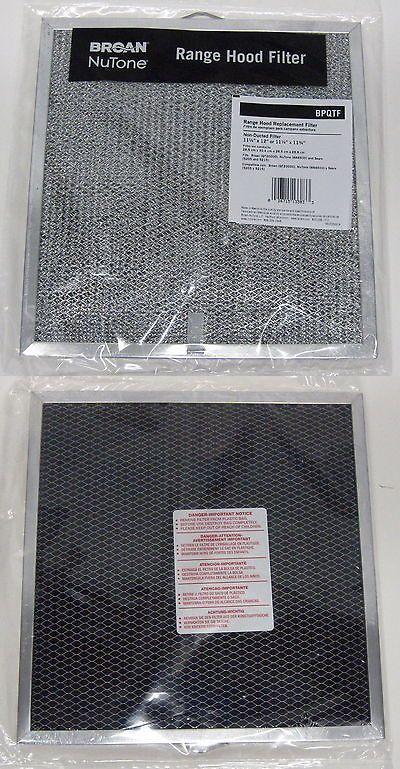 Bpqtf Broan Nutone Vent Range Hood Filter Also Fits S99010317 99010317 Range Hood Filters Broan Range Hood