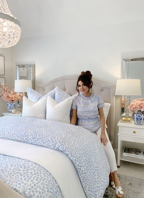 Preppy Bedroom, Comfy Bedroom, Dream Bedroom, Home Decor Bedroom, Master Bedroom, Couple Bedroom Decor, Purple Bedrooms, Guest Bedrooms, Bedroom Colors