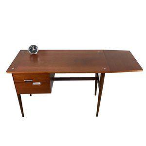 Merton Gershun For American Of Martinsville Drop Leaf Desk Refinished By Revive Modern Drop Leaf Desk Desk Merton Gershun