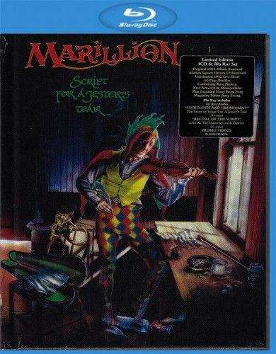 Blu Ray Marillion Script For A Jester S Tear Deluxe Edi V 2020 G