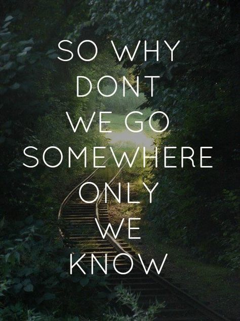 Keane - Somewhere Only We Know. Love! Got Ethen into this song years ago :)
