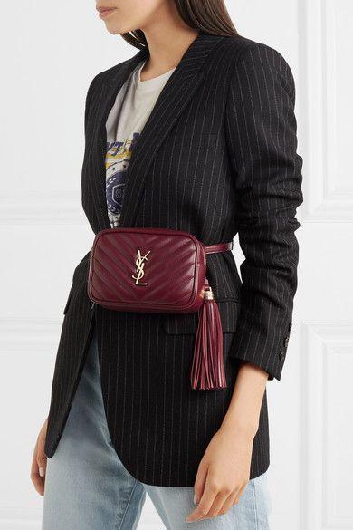 7d42dde4 Saint Laurent | Lou quilted leather belt bag | NET-A-PORTER.COM ...
