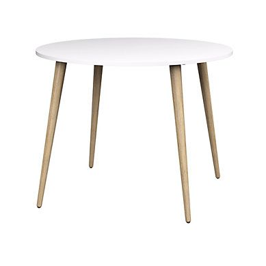 Table Ronde Oslo Blanc Chene But Salleamanger Scandinave Style Table A Manger Pas Cher Table Basse Meuble Canape