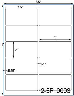 Avery 5163 Labels Template 4 X 2 Rectangle Brown Kraft Label Sheetusually Ships Same Day Label Templates Kraft Labels Sheet Labels