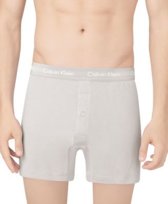 0ce1970c9ba6 Calvin Klein Men's Classic Knit Boxers 3-Pack NU3040 - White XL