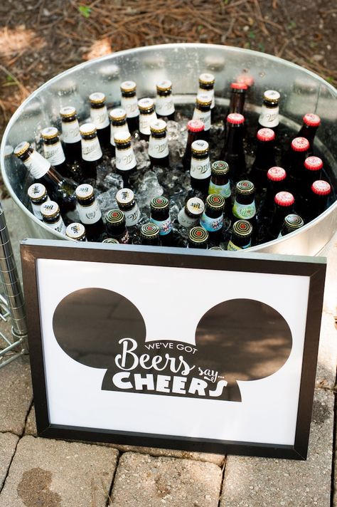 Willie Classic Mickey Mouse Birthday Party Drinks from a Steamboat Willie Classic Mickey Mouse Birthday Party on Kara's Party Ideas Mickey 1st Birthdays, Mickey Mouse First Birthday, Mickey Mouse Clubhouse Birthday Party, Mickey Mouse Parties, Mickey Party, Mickey Mouse Wedding, Mickey Mouse Treats, Minnie Mouse Favors, Bolo Minnie