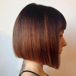 53 Adorable Blunt Bob Hairstyles To Give You A New Look Seasonoutfit Choppybobhairstyles Bob Hairstyles Choppy Bob Hairstyles Blunt Bob Hairstyles