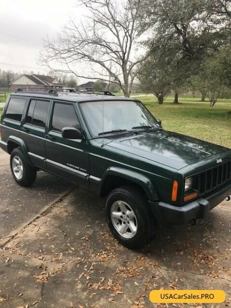 Car For Sale 2001 Jeep Cherokee Sport