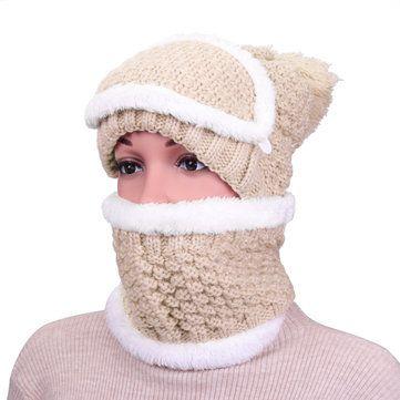غطاء قناع وجه صيد دافئ للرجال والنساء مع غطاء للأذنين وشاح مقنع ومقاوم للرياح مع غطاء للرقبة Scarf Set Winter Warmers Neck Collar