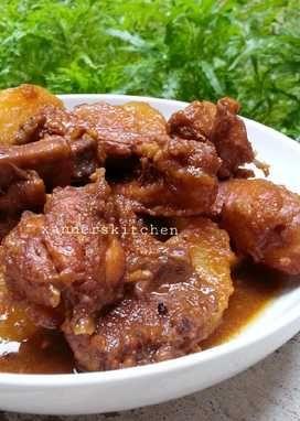 Bumbu Semur Ayam Pedas : bumbu, semur, pedas, Xander's, Kitchen, Cookpad, Resep, Masakan, Indonesia,, Makanan,, Makanan