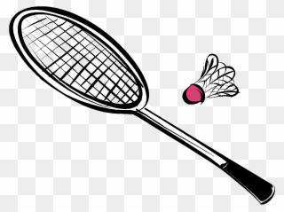 Collection Of Equipments Drawing High Quality Badminton Racket Drawing Clipart In 2020 Drawing Clipart Clip Art Rackets