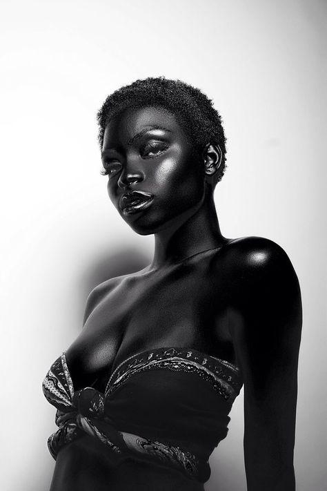 #afro #nubian #melanine   Black is beautiful, Skin model