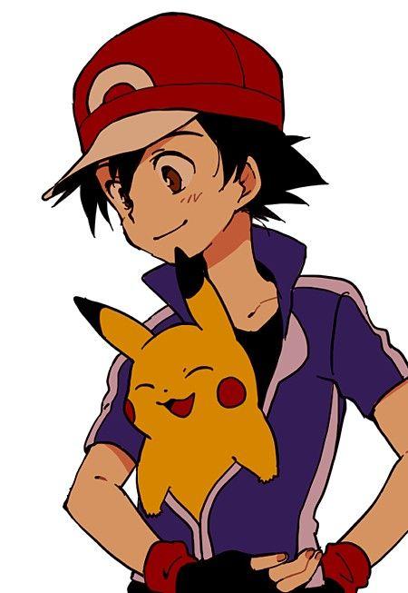Ash And Pikachu Pokemon Characters Ash Pokemon Pikachu