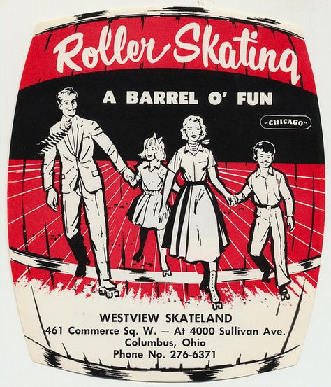 Westview Skateland Columbus, Ohio Roller skating