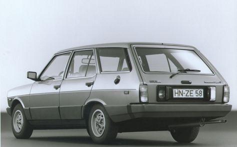 Fiat 131 Mirafiori 1300 Panorama Or In Other Words Estate Car