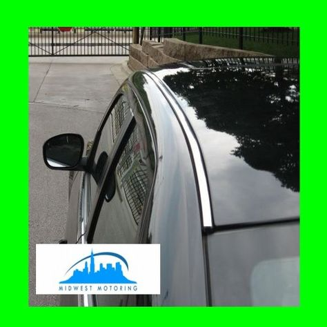Best Price On 2005 2010 Chrysler 300 300c Chrome Roof Trim Moldings 2pc 2006 2007 2008 2009 05 06 07 08 09 10 Srt8 Srt 8 Limited Touring See Deta