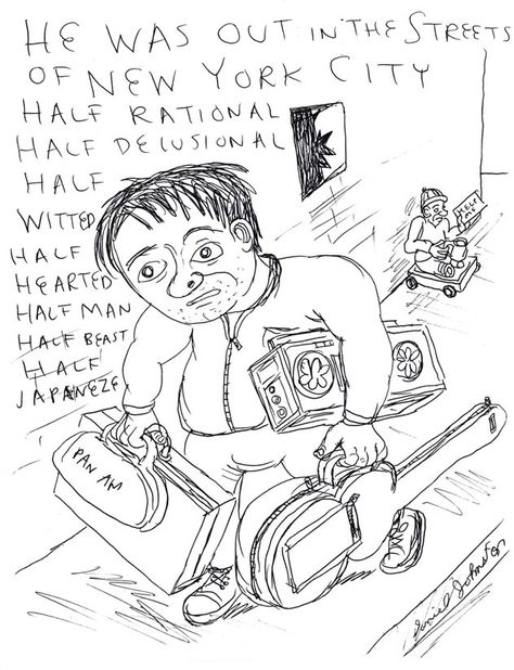 Daniel Johnston early drawing | Product Details - Daniel Johnston Web Store