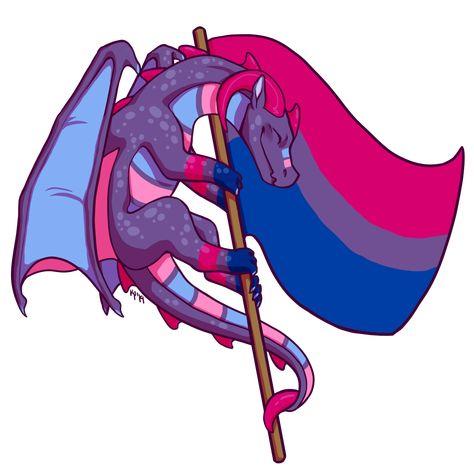 this year's round of pride dragons, happy pride you guys! Bisexual Pride, Gay Pride, Bi Flag, Gay Aesthetic, Lgbt Community, Animes Wallpapers, All Pride Flags, Memes, Manhwa