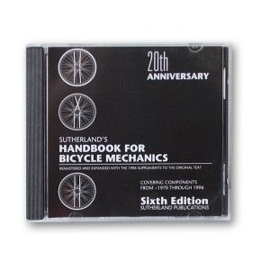 Repair manual 6th edition cd only simply the best handbook for repair manual 6th edition cd only simply the best handbook for bicycle repair ever published the 6th edition is available in cd format only fandeluxe Images