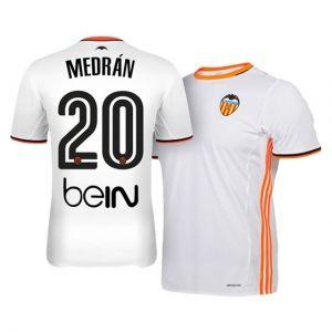 16 17 Valencia Cheap Home 20 Medran Replica Football Shirt I00677 Soccer Jersey Football Shirts Jersey