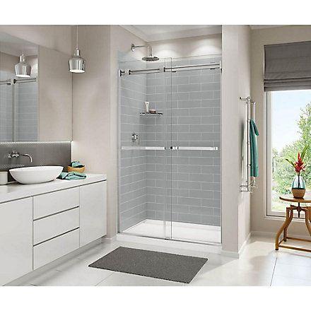 Maax Distinct 48 Inch X 32 Inch Acrylic Shower Base In White The