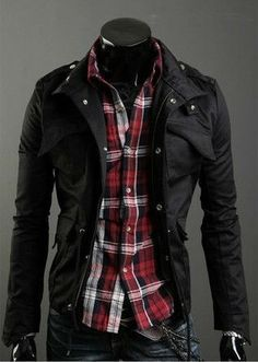 Mens Jackets Sale Multi Pocket Jacket Mens Black Jacket Mens Fashion Clothing from Reliable mens jackets suppliers on MarcStyle