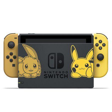 Nintendo Switch Pikachu Edition Bundle Gray Yellow Hacskfalf Walmart Com Pokemon Nintendo Buy Nintendo Switch
