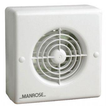 Manrose Wf100t 4 Inch Window Extractor Fan With Timer Extractor Fans Bathroom Extractor Fan Ventilation Fan