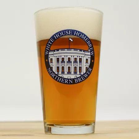 White House Honey Porter Pint Glass Beer Recipes Beer Ale Beer
