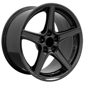 Fits Ford Mustang Saleen Style Fr06 Wheels Black Mustang Wheels Wheel Rims Car Wheels