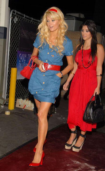 Let Kim Kardashian and Paris Hilton Take You on a Throwback Tour of Fashion Trends