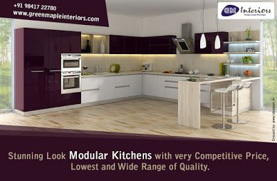 Design Your Modular Kitchen In Chennai Done With Our Kitchen
