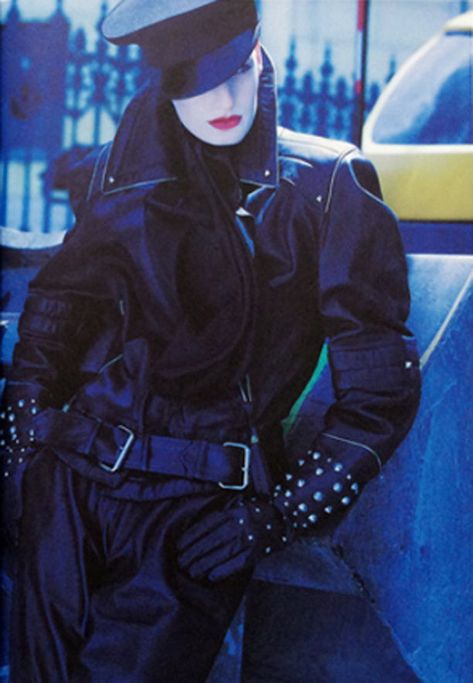 designerleather: Claude Montana 1979 - Darque & Lovely: No one knows I'm here