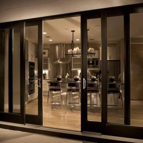 Porta Finestra Scorrevole 4 Ante.Elegant Sliding Glass Doors With Luxurious Style Porta Finestra